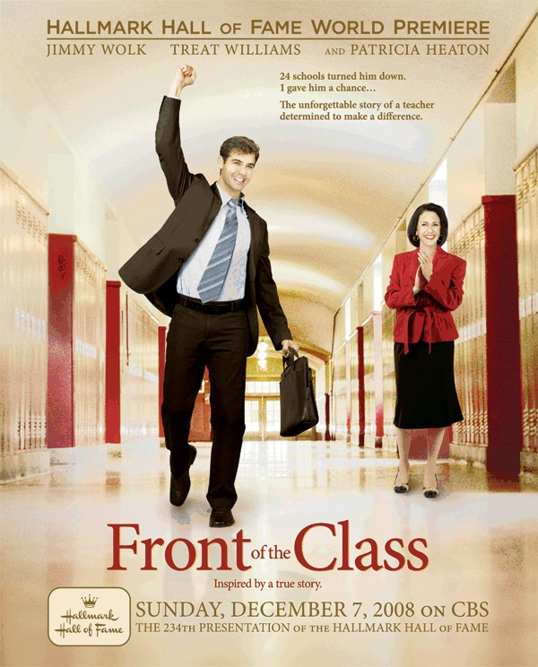 Sign up now to learn when Front of the Class will be for sale on DVD!