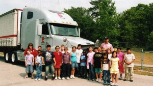 Have a Trucker Buddy like our class did!  Maxine was for real!