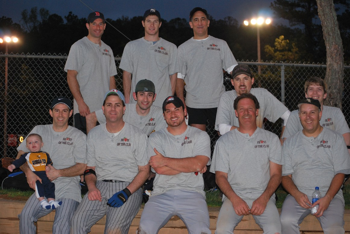 front-of-the-class-softball-team-