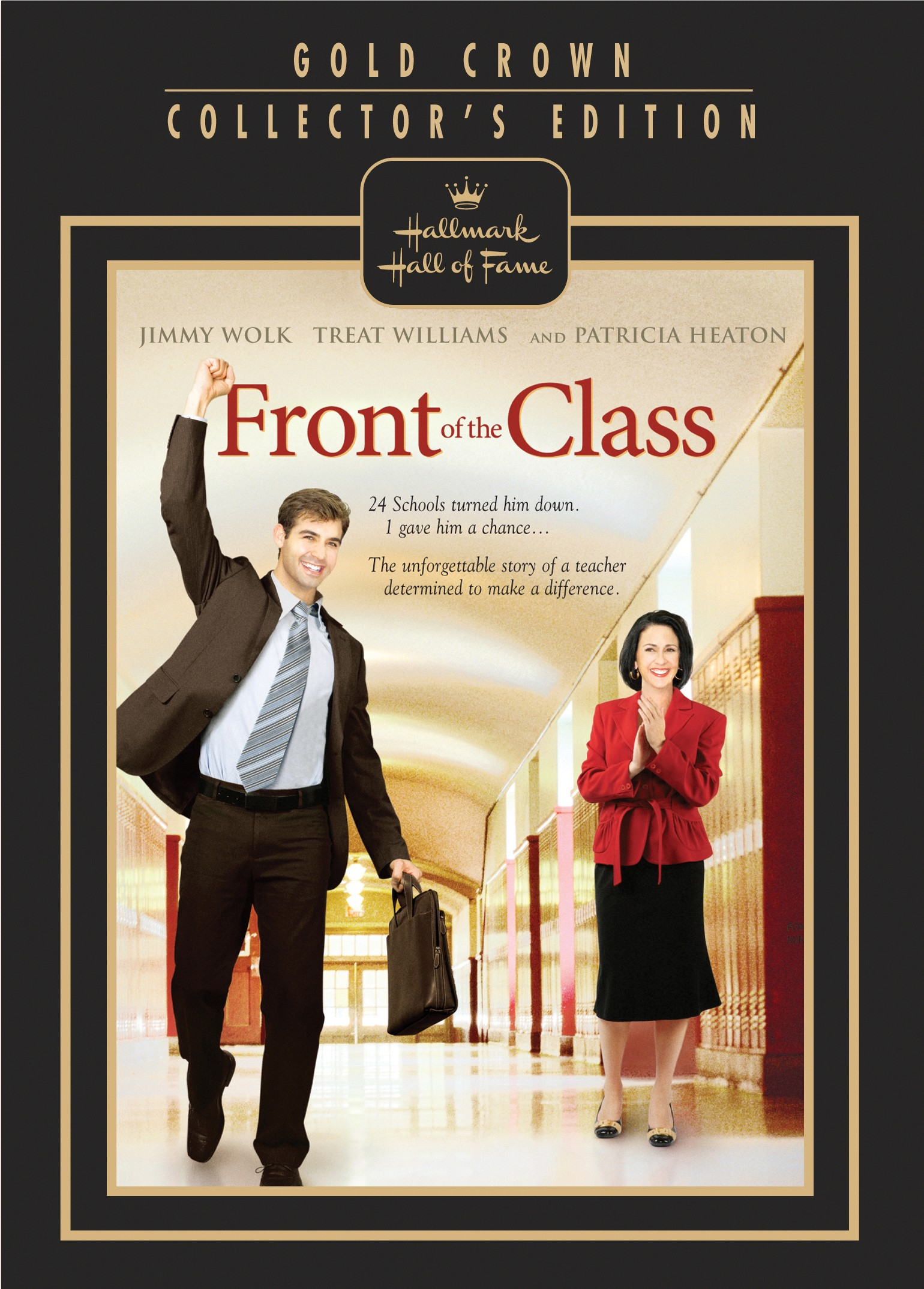 Front of the Class DVD Cover