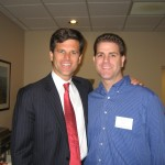 Brad Cohen and Tim Shriver